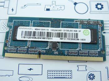Оперативная память 4GB DDR3 Ramaxel RMT3170EB68E9W 1600 Оригинал новый