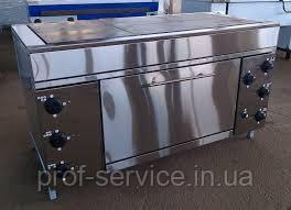 Плита промышленная шестиконфорочная с духовкой ЭПК-6ШБ эталон