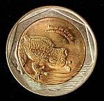 Монета Колумбии 100 песо 2012 г., фото 2