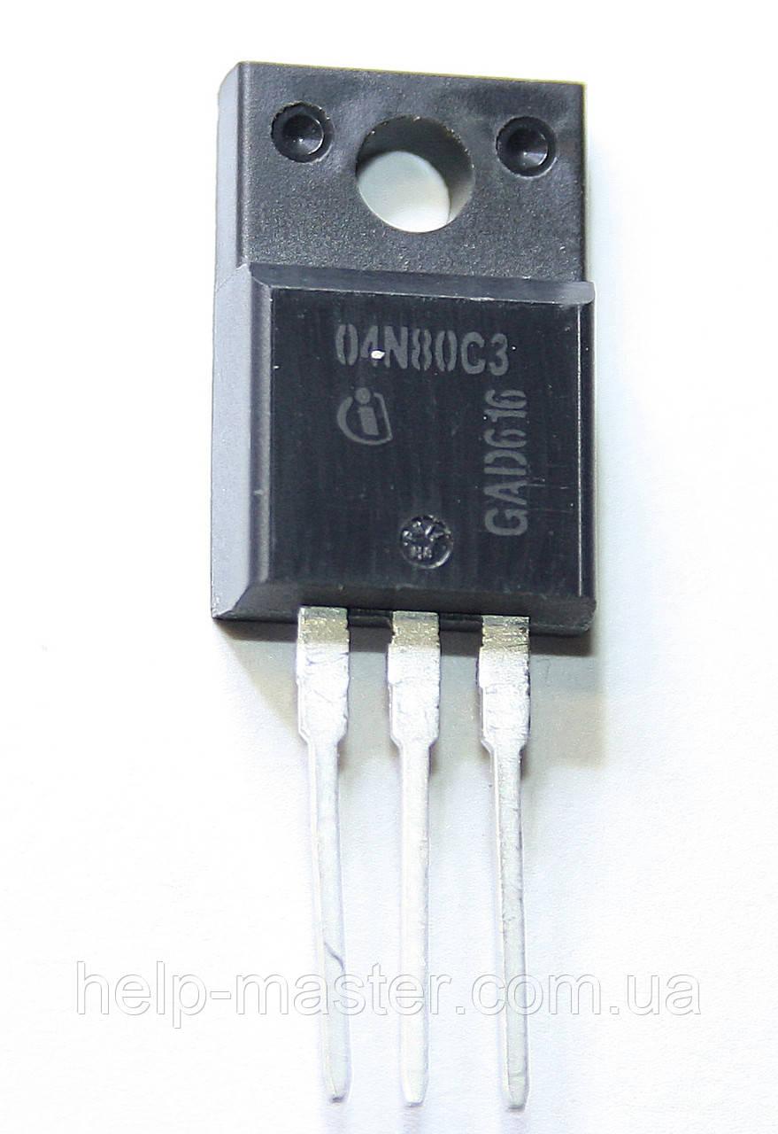 Транзистор SPA04N80C3 (TO-220-3-31)