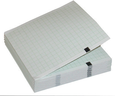 Термобумага для ЭКГ 108 мм на 140 мм на 200 листов на кардиограф Mortara ELI-150c