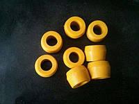 Втулки заднего амортизатора Ваз 2101 2102 2103 2104 2105 2106 2107,2121 нива к-кт 8шт полиуритановые