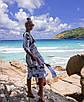 Стильная пляжная туника с узорами, фото 2