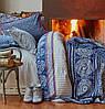 Karaca Home постельное белье ранфорс Navy blue 2017-1 голубой евро