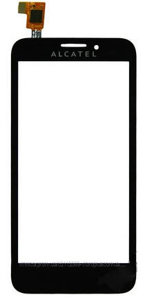 Тачскрин (сенсор) Alcatel 7030 One Touch Snap, black (чёрный), фото 2