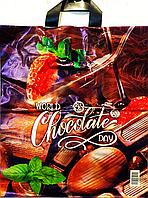 Пакет полиэтиленовый Петля Шоколад 37 х 42 см / уп-25шт