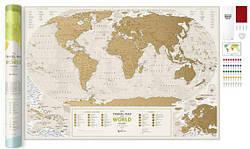 Скретч Карта Travel Map® Geography World
