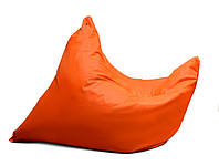 Оранжевое кресло мешок подушка 120*140 см из ткани Оксфорд, кресло-мат, фото 1