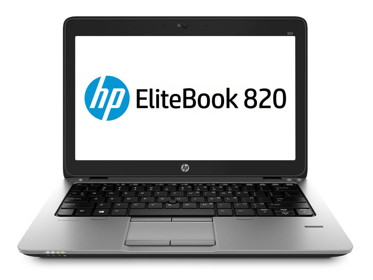 Ноутбук HP EliteBook 820 G2-Intel-Core-i5-5200U-2,20GHz-8Gb-DDR3-180Gb-SSD-W12.5-W7P-Web- Б/У