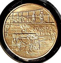 """Монета Австралии 1 доллар 2017 г. Серия """"Война рядом с домом"""" Мост"""