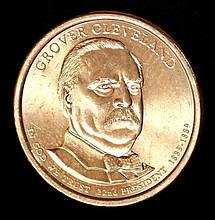 Монета США. 1 доллар 2012 г. 22 Президент Гровер Кливленд
