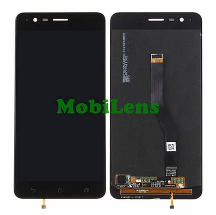 Asus ZE553KL, ZenFone 3 Zoom Дисплей+тачскрин(модуль) черный, фото 2