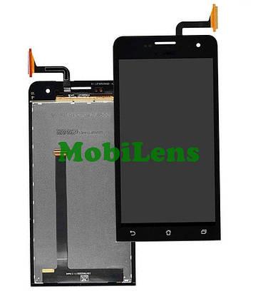 Asus A450C, A450CG, ZenFone 4 Дисплей+тачскрин(модуль) черный, фото 2
