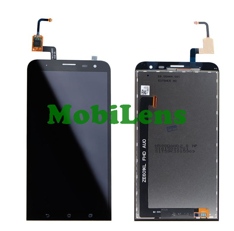 Asus ZE601KL, ZenFone 2 Laser, Z011D, ZE600KL Дисплей+тачскрин(модуль) черный