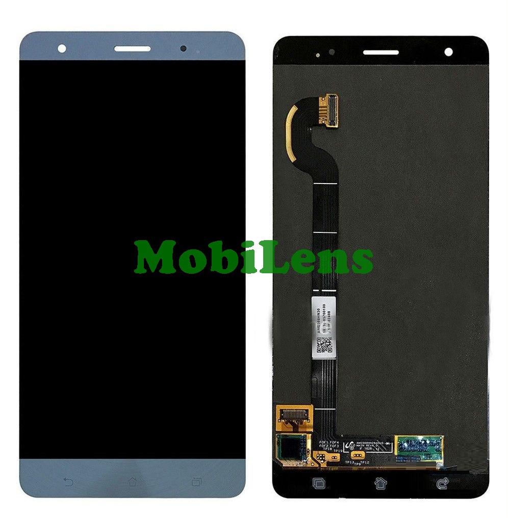 Asus ZS570KL, ZenFone 3 Deluxe Дисплей+тачскрин(модуль) голубой Original (AMOLED)