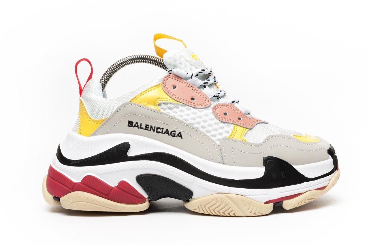 Женские кроссовки Balenciaga Triple S Color