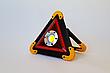 Аварийный знак металл Hurry bolt COB + LED фонарь и свечение, фото 3
