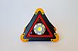 Аварийный знак металл Hurry bolt COB + LED фонарь и свечение, фото 4