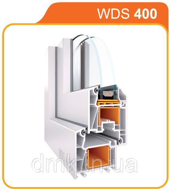 Металлопластиковое окно WDS 400