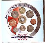Копия Набор монет Великобритании 2000 г., фото 2
