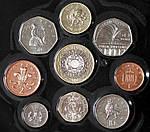 Копия Набор монет Великобритании 2000 г., фото 3
