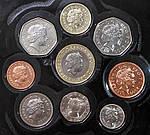 Копия Набор монет Великобритании 2000 г., фото 4