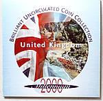 Копия Набор монет Великобритании 2000 г., фото 6