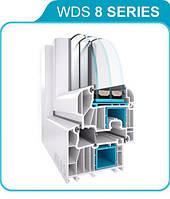 Металлопластиковое окно WDS 8 SERIES