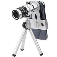 Объектив Zoom для телефона mobile telephoto lens 12x