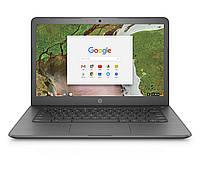 """Ноутбук HP Chromebook 14"""" 4/32GB, N3350 (14-ca070nr) Серый"""