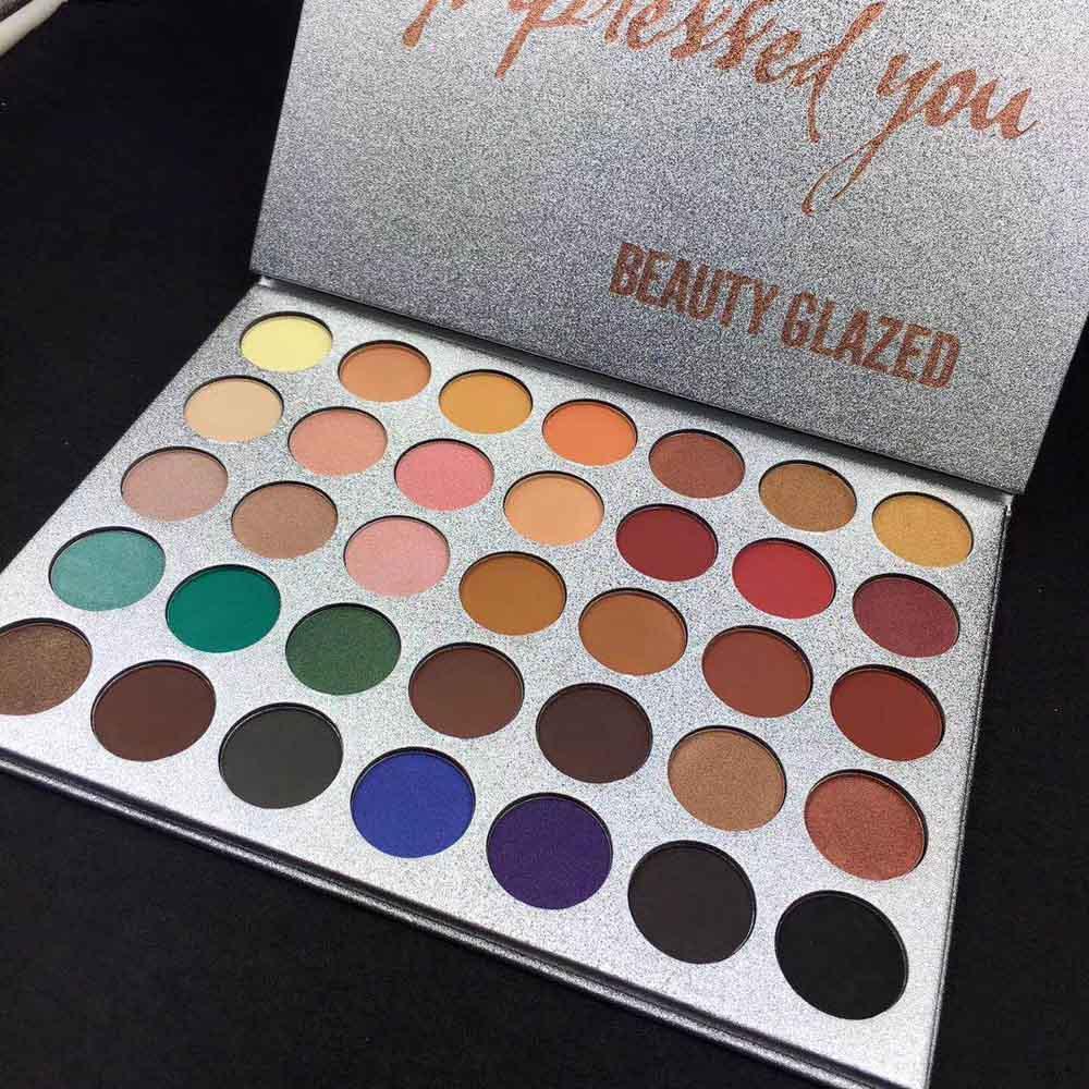 Тени для век Beauty Glazed Impressed You (35 оттенков)