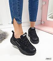 Кроссовки Balenciaga черные. Аналог