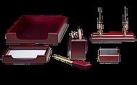 Набор офисный, 6159 XDU, 6 предметов, красное дерево, 50833