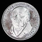 Монета Германии 5 марок 1981 г., фото 2