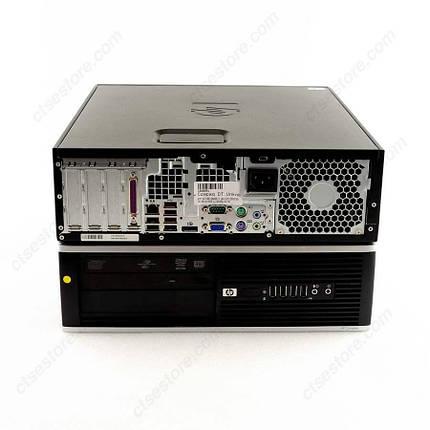 Системный блок HP Compag 8000 Elite SFF-C2D-E7500-2.93GHz-2Gb-DDR3-HDD250Gb-DVD-RW-W7P- Б/У, фото 2