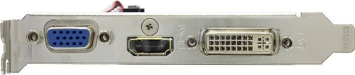 Видеокарта EVGA e-GeForce 210 (1Gb)- Б/У, фото 2