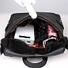 Рюкзак-сумка женский черный, фото 5