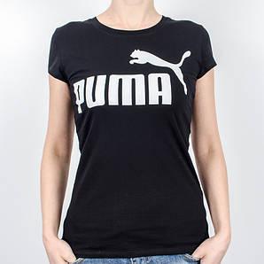 Женская спортивная футболка, Puma (Черный)