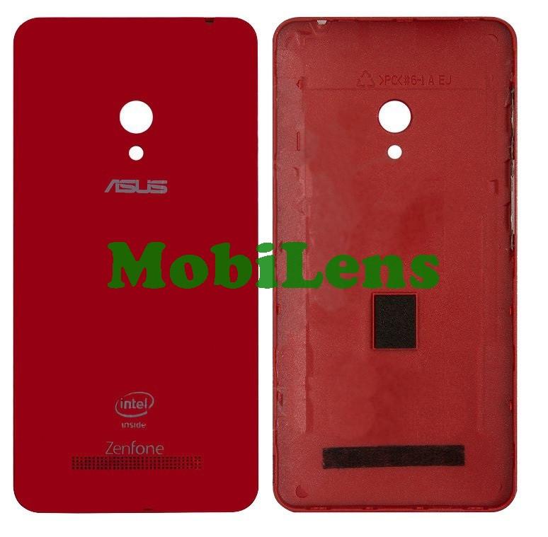 Asus A500CG, A501CG, A500KL, ZenFone 5, T00F, T00J Задняя крышка красная