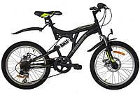 """Велосипед горный Crosser Smart-1 20"""" black"""