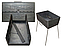 Мангал чемодан Турист на 8 шампуров, фото 2