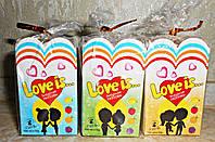 Love is Зефірна любов (зефірки у вигляді сердець) 10г*30шт АКЦІЙНА ЦІНА***