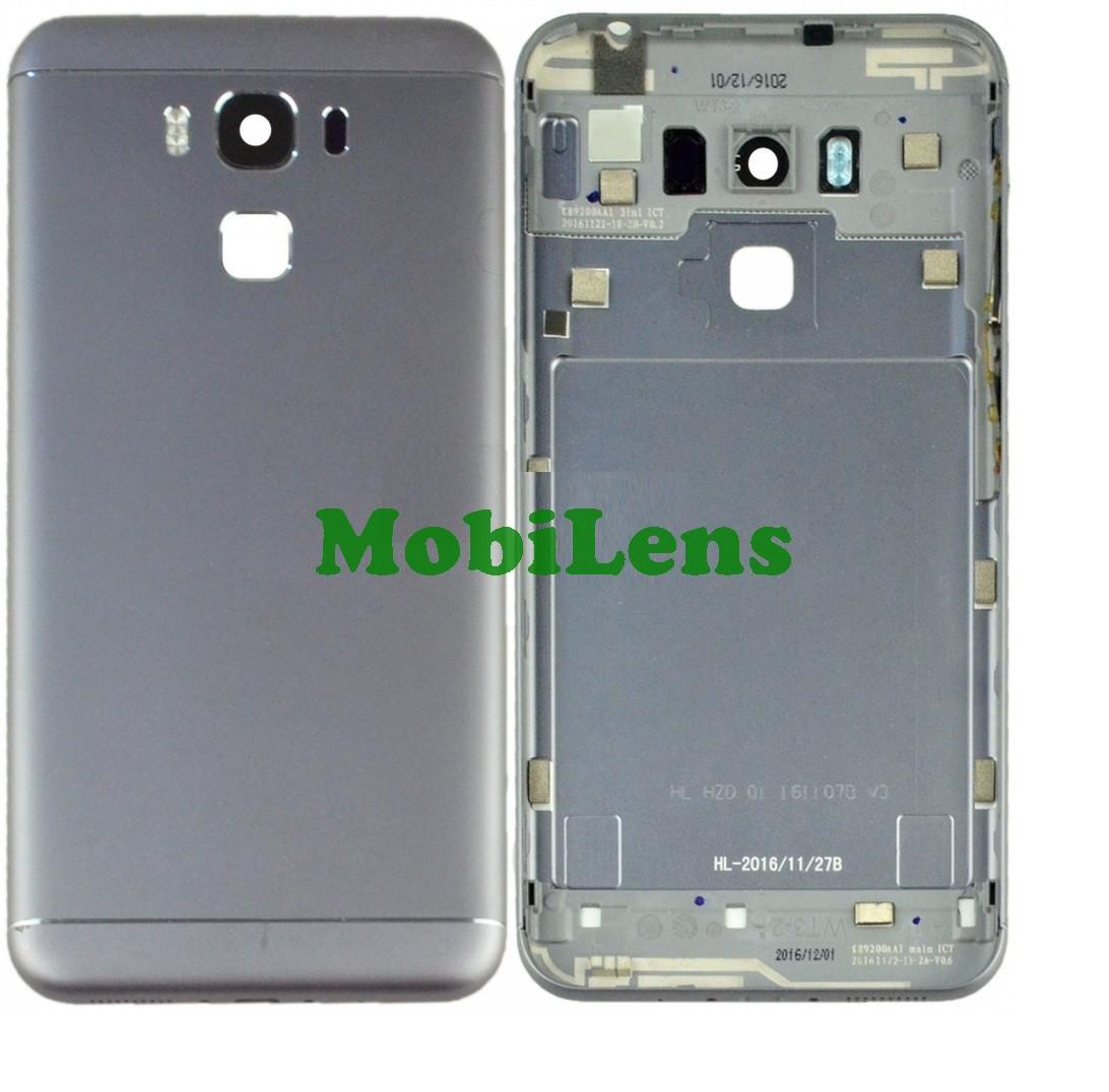 Asus ZC553KL, X00DD, Zenfone 3 Max Задняя крышка серебристая