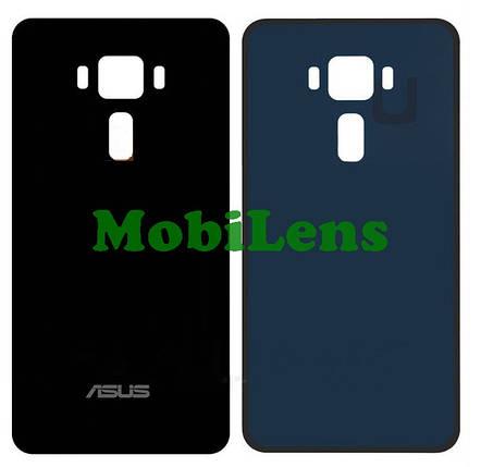 Asus ZE552KL, ZenFone 3, Z012S, Z012DE Задняя крышка черная, фото 2