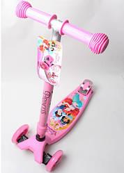 Самокат Maxi Scooter Disney. Русалочка Ариэль с наклоном руля