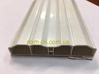 Белый пластиковый штакетник, размером 80х15мм , цвет белый, фото 1