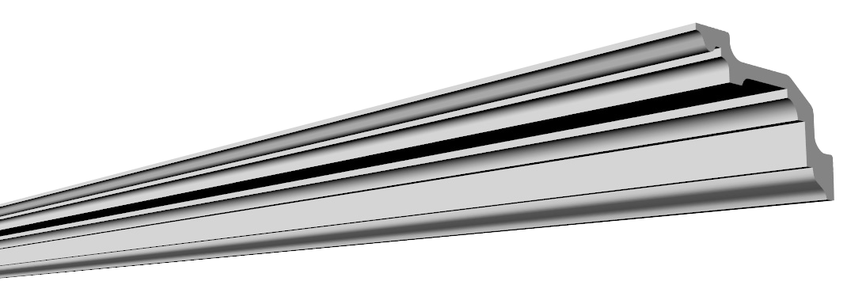 Карниз Glanzepol GP-68 (127x80)мм