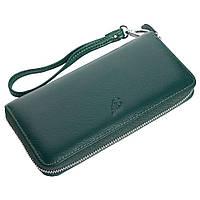Женский кожаный кошелек F. Leather Collection AL-F38-1 Green зеленый, фото 1