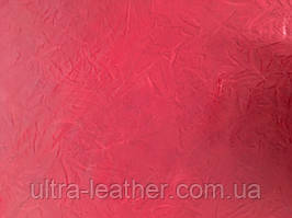 Натуральная кожа Жатка Красная  (галантерейная, обувная),Ultra