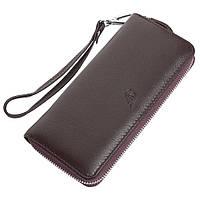 Женский кожаный кошелек F. Leather Collection AL-F38 Coffee коричневый, фото 1